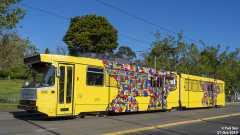 B2.2012 Melbourne 2019 Art Tram #6/8