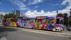 B2.2054 Melbourne 2019 Art Tram #7/8