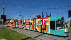 D2.5002 Melbourne 2019 Art Tram #8/8
