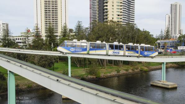 Monorail Broadbeach
